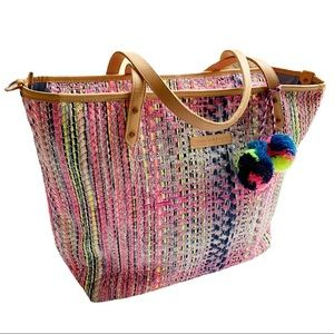 Petunia Pickle Bottom Neon Pop Downtown Tote
